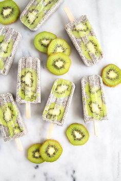 The most visually appealing popsicles i have ever seen. More