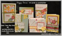 Happy Times, card kit, close to my heart, may 2016 #ctmhhappytimes #ctmh #cardmaking