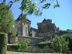 chateau de Biron, Dordogne, France
