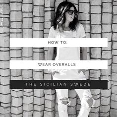 Dying to buy a pair of overalls but not sure you can pull them off? You CAN trust me!! Check out my blog post today with tips for styling overalls. So many ways to wear them you are going to go out and buy a pair after seeing this!  http://ift.tt/1OK3Bhy  #thesicilianswede #overalls #blogpost #styletips #fblogger