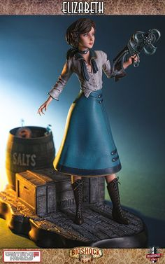 Mechanical Japan: BioShock Infinite - Elizabeth Statue 1/4 (Gaming Heads)