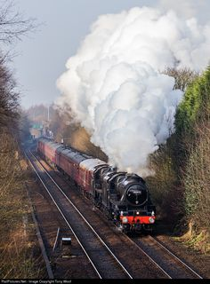 RailPictures.Net Photo: 44871 London Midland & Scottish Railway Steam 4-6-0 at Hindley, United Kingdom by Tony Woof