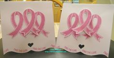 Card for October is Breast Cancer Awareness Month Blog Hop