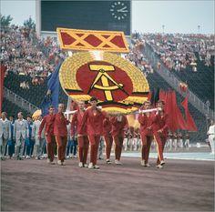 Poster DDR - Turn- und Sportfest Leipzig 1969