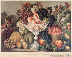 F. Palmer - American Autumn Fruits