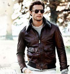 Cuir Automne Jacket Mode Look Aviateurs Jeans Homme Motorcycle Veste Ywq8a81