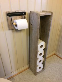Driftwood Drivved toilet paper holder. Lag, Rv Life, Driftwood, Camper, Diy And Crafts, House, Inspiration, Creative, Decorations