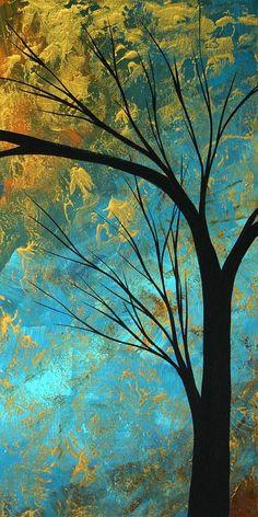Abstract Landscape Art PASSING BEAUTY,  3 of 5 Fine Art Prints. Megan Duncanson