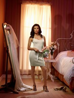 Eva Longoria as Gabrielle Solis - Desperate Housewives - Photo by Andrew Southam Zooey Deschanel And Sister, Emily Deschanel, Gabrielle Solis, Eva Longoria Desperate Housewives, Gq, Housewife Photos, Asian Bridal, Sexy Hot Girls, Pin Up