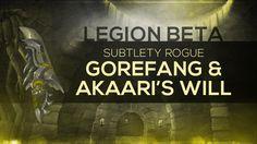 "nice WoW LEGION Beta - Artifact Quest | Subtlety Rogue ""Fangs of the Devourer"" (Spoilers)"