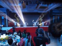 2015 #TheBrandLaureate Award Throwback The actual stage performers' #dance with lighting rods