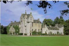 Ballindalloch Castle is located in Moray, Scotland.  Ballindalloch is known as the Pearl of the North.  The property has been in the Russell Macpherson-Grant family since 1457.  The Macpherson-Grants, founded the famous Aberdeen Angus cattle on this land.