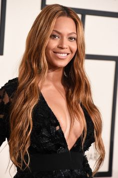 Beyoncé arrives at the 57th Annual GRAMMY Awards on Feb. 8 in Los Angeles
