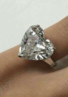 Carat Heart Shape F Diamond with Tapered Baguette Engagement Ring Baguette Engagement Ring, Engagement Rings, Wedding Ring Styles, Gold Diamond Wedding Band, Diamond Rings, Heart Jewelry, Heart Rings, Bridal Rings, Beautiful Rings