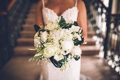 Elegant bridal bouquet | Image By Amy Faith Photography