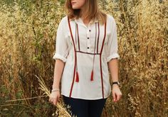 Plan B anna evers DIY Boho shirt DIY