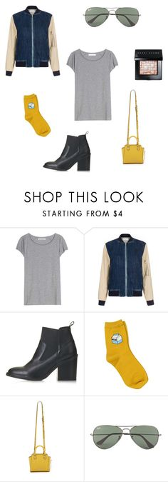 """""""jackets for summer?"""" by her-aesthetic on Polyvore featuring Acne Studios, Paul Smith, Topshop, Chicnova Fashion, Rebecca Minkoff, Ray-Ban and Bobbi Brown Cosmetics"""