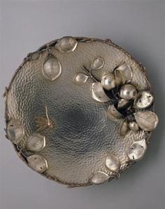 wasbella102:  Gorgeous centre piece bowl, made by the Gorham Manufacturing Company in 1881