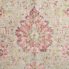Sariz Fabric is a faux velvet framed floral motif from the Flying Carpet Collection by P/Kaufmann. Screen printed on a lush 100% polyester, this distressed floral is reminiscent of a Persian rug and is treated to be anti-static, as well as stain and soil repellent.