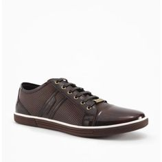 Kenneth Cole Down N Up Leather Sneaker #KennethCole #FashionSneakers