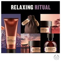 When you're feeling stressed and tense, fast-track to relaxation with this calming spa ritual. Massage Place, Good Massage, Massage Oil, Massage Chair, Body Shop At Home, The Body Shop, Body Shop Skincare, Getting A Massage, Home Spa