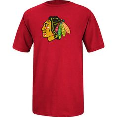 Chicago Blackhawks Red Logo YOUTH T-Shirt by Antigua $17.95  #ChicagoBlackhawks