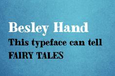 Besley Hand Font - Display - 1