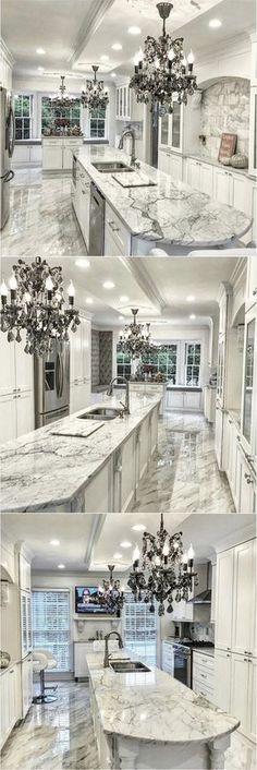 Gorgeous Glamorous Kitchen Design @glam_style_living_