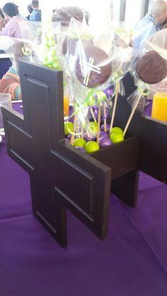 Cruz de madera para 1a comunión