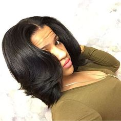 STYLIST FEATURE| Healthy hair is the best hair❤️ Love this #bob ✂️styled by #ClevelandStylist @tyne221#voiceofhair ✂️========================== Go to VoiceOfHair.com ========================= Find hairstyles and hair tips! =========================