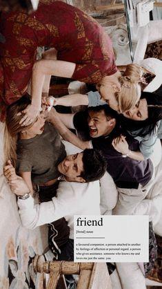Ideas for wall paper friends tv show Friends Tv Show, Tv: Friends, Friends Cast, Friends Episodes, Friends Moments, Friends Forever, Funny Friends, Chandler Friends, Pivot Friends