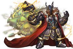 No.1028 威嚴鐵鎚 ‧ 索爾 Hammer of Authority - Thor #神魔之塔 #神魔_北歐神幻化