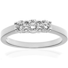 Naava 0.13 Carat I Diamond Pave Setting Eternity Ring in 9ct Gold lEYm3PuIXw