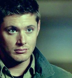 Dean Winchester and those perfectly green eyes!