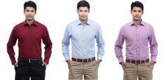 Peter England Shirt 3pc worth Rs.2097 @ Rs.1297 – Homeshop18