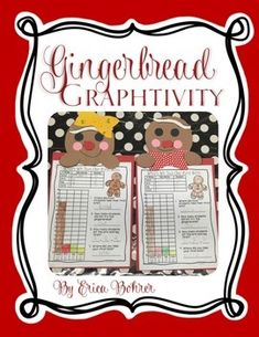 This is a gingerbread graphing and craft activity. The activity is simple, engaging, and makes an easy hallway display. Your students take a bite out of a gingerbread cookie. They will then create a whole class graph of where they took their first bites.