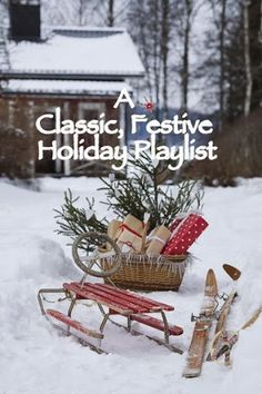 Why Not . . . Create a Festive Playlist? My favorite classic and contemporary songs are shared! Pick and choose as you please!