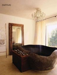 Really neat bath/ shower