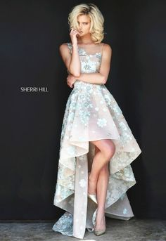 Siempre espectaculares vestidos de Sherri Hill  #moda #vestido #estilo #style #dress #fashion