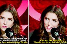 24 Times Anna Kendrick Was 100% Actually You  Yeah, this sound a bit like me. Wow me and Anna are so much a like.