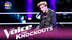 """The Voice 2017 Knockout - Noah Mac: """"Hold Back the River"""""""
