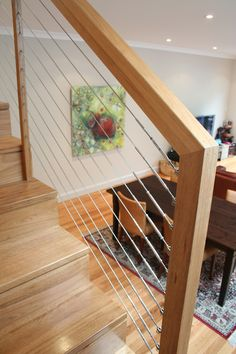 Best Mdf Wood Cut Stringer Closed Rise Staircase 400 x 300