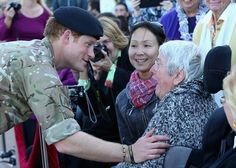 Pin for Later: Prince Harry Gets an Unexpected Kiss on the Lips While Bidding Farewell to Australia