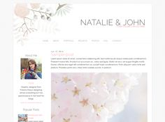 Natalie | by Kate - Blog Design | Blogger Templates - Designer Blogs