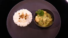 - Poulet au curry vert- Riz basmati - Réalisation