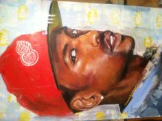 Big sean painting by realryanjones. Acrylic on canvas