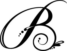 best b monogram cursive letter b letter art nome beatriz letter b tattoo
