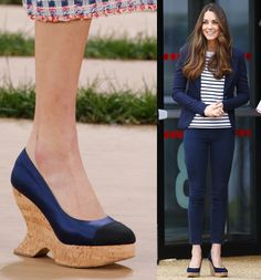 Sensible Wedges on the Chanel Runway? We Think Kate Middleton Would Approve (=)