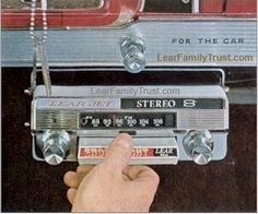 8-track tape cartridges  (introduced in 1964)