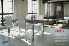 Tavolo rettangolare, allungabile, Clooney con piano in vetro e struttura in acciaio cromato. Scoprilo su http://www.chairsoutlet.com/ita/articolo/tavoli/tavoli-in-metallo/tavolo-allungabile-clooney-chairsoutlet-com/15/52/466.php #50sfumaturedautunno